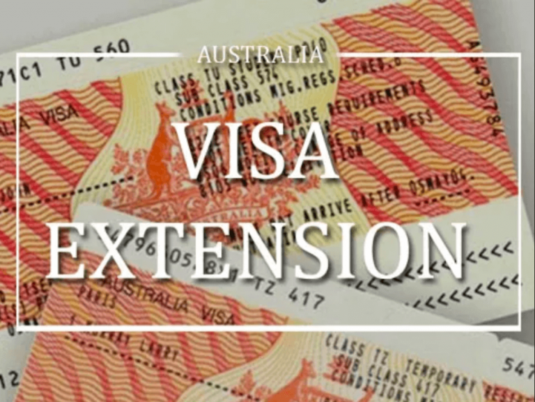 australian visa extension